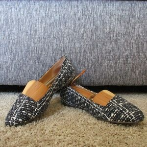 Blue and Gray Lucky Brand Flats Size 6